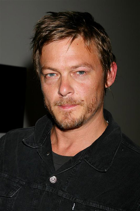 The &#39;Stone-Cold-Serious&#39; stare: Norman Reedus appears at the premiere of &#39;STONE&#39; in New York on Oct. 5, 2010. <span class=meta>(Dave Allocca &#47; Startraksphoto.com)</span>