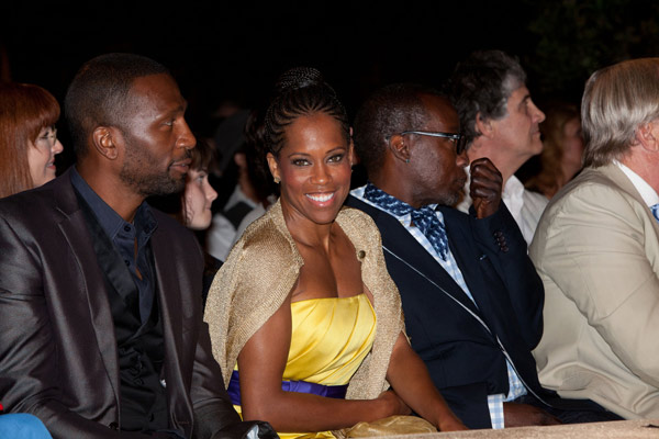 Regina King attends the HollyRod Foundation's...