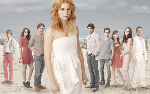 Still image of the cast from the show 'Revenge.'