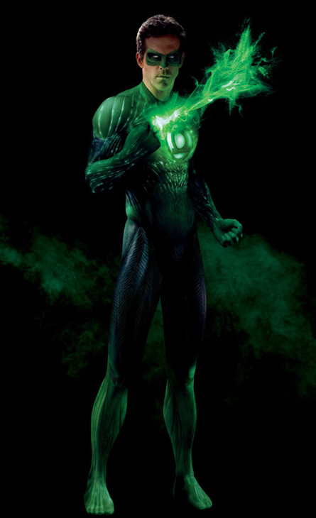 Ryan Reynolds appears in a promotional photo for the 2011 movie &#39;Green Lantern.&#39; <span class=meta>(Warner Bros. Pictures)</span>