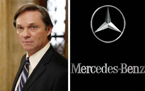 Actor Richard Thomas was the voice for Mercedes-Benz TV commercials in 2007.  <span class=meta>(NBC&#47;Mercedes-Benz)</span>