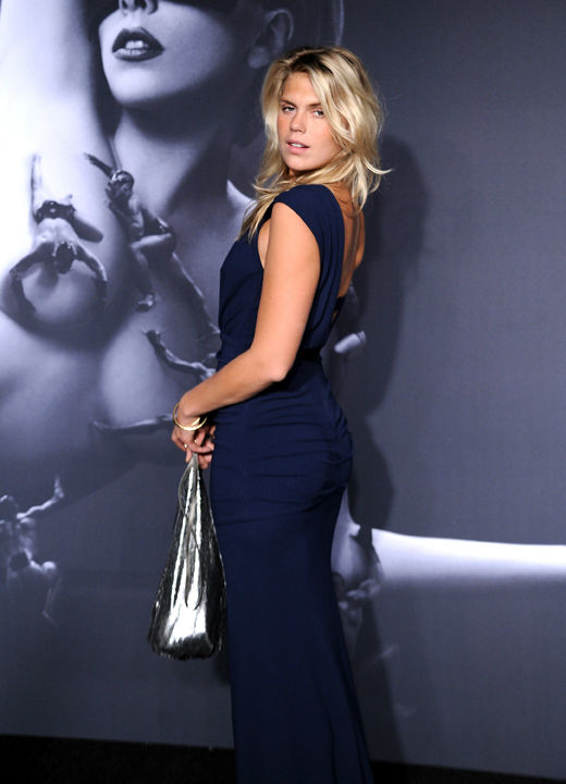 "<div class=""meta ""><span class=""caption-text "">Alexandra Richards arrives at a 'Lady Gaga Fame' fragrance launch event at the Guggenheim Museum on Thursday, Sept. 13, 2012 in New York.The black tie masquerade event featured a performance art piece by Lady Gaga, 'Sleeping with Gaga.' The film for 'Lady Gaga Fame,' directed by Steven Klein, was also unveiled. (Evan Agostini)</span></div>"