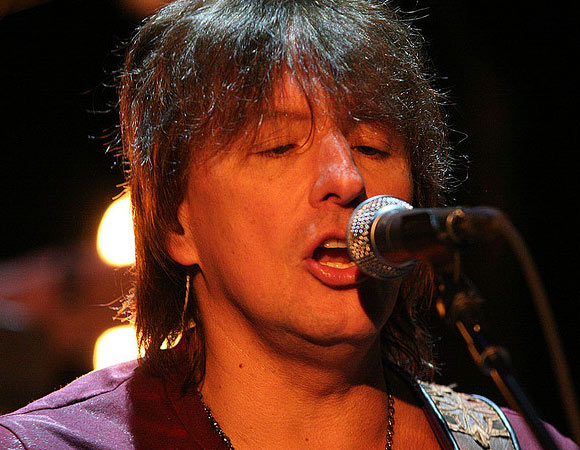 Bon Jovi guitarist Richie Sambora has undergone three known stints in rehab - the latest being in April 2011, when he was treated for alcohol addiction. He also checked into a facility for the same issue in 2007 and has spoken about his past problems with painkillers.  &#40;Pictured: Richie Sambora of Bon Jovi performs on Radio 1 in the UK in 2009.&#41; <span class=meta>(flickr.com&#47;photos&#47;radio1interactive&#47;)</span>