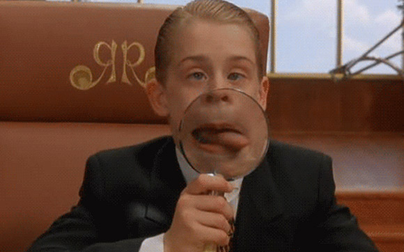 Macaulay Culkin appears in a scene from the 1994 film 'Richie Rich.'