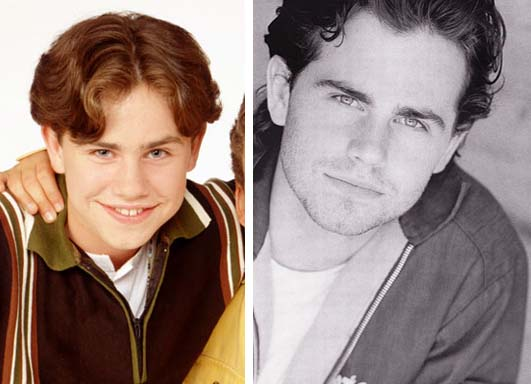 Rider Strong appears in a promotional photo for the television series, 'Boy Meets World.' / Rider Strong appears in an undated publicity photo.