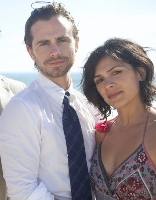 Rider Strong of 'Boy Meets World' fame and fiancee Alexandra Barreto are pictured in this undated photo provided on Dec. 27, 2012. The two got engaged four days earlier.