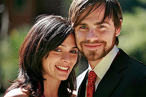 &#39;Boy Meets World&#39; alum Rider Strong and actress Alexandra Barreto wed on Oct. 20, 2013 -- a day after his former co-star Danielle Fishel married her own fiance. Check out details here.  &#40;Pictured: Rider Strong and Alexandra Barreto appear in a photo the actor&#39;s rep provided on Dec. 27, 2012, the day he announced the two are engaged.&#41; <span class=meta>(Rider Strong)</span>