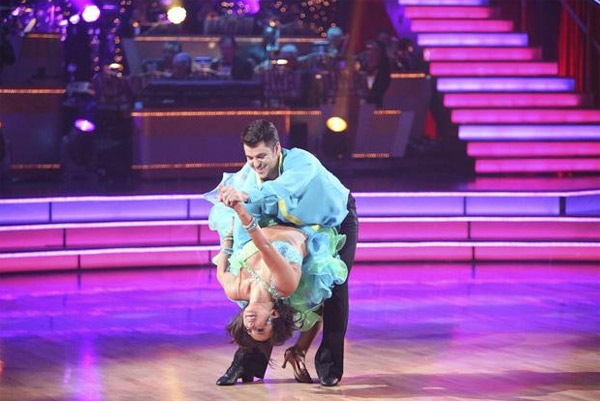 &#39;Keeping Up With The Kardashians&#39; star Rob Kardashian and his partner Cheryl Burke received 26 out of 30 for their favorite dance, a Fox Trot from week 3 on &#39;Dancing With The Stars: The Results Show&#39; on Tuesday, November 22. <span class=meta>(ABC &#47; Adam Taylor)</span>
