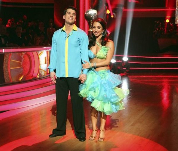 'Keeping Up With The Kardashians' star Rob Kardashian and his partner Cheryl Burke received 26 out of 30 for their favorite dance, a Fox Trot from week 3 on 'Dancing With The Stars: The Results Show' on Tuesday, November 22.