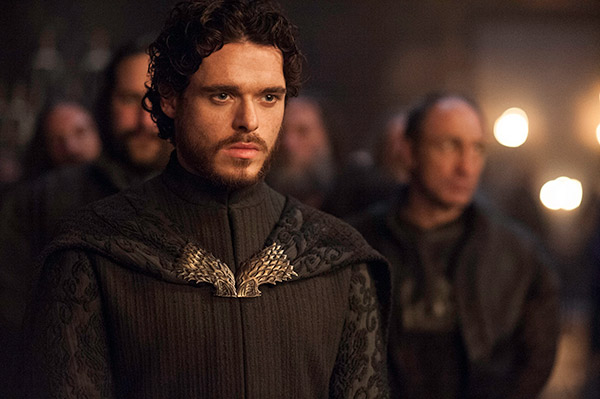 "<div class=""meta ""><span class=""caption-text "">Richard Madden appears as Robb Stark in a scene from the 'Red Wedding' scene of season 3 of the HBO series 'Game of Thrones.' (Helen Sloan / HBO)</span></div>"