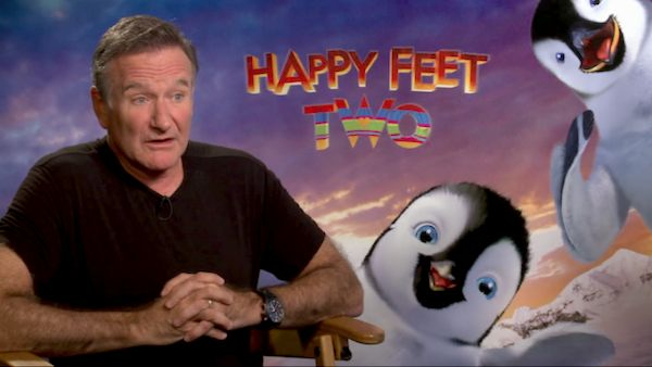Robin Williams speaks to OnTheRedCarpet.com...