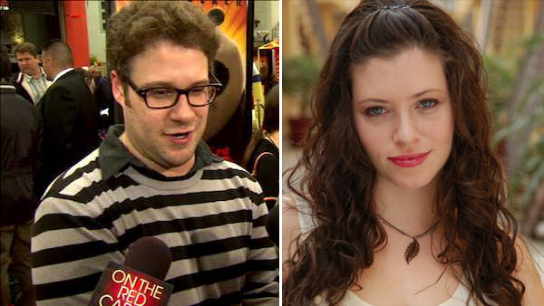 "<div class=""meta ""><span class=""caption-text "">Seth Rogen and Lauren Miller married on Sunday, Oct. 2, 2011 in Sonoma, California, the actor's spokesperson told OnTheRedCarpet.com. The two have been dating since 2004 and became engaged in September 2010. The two wed before family and friends, overlooking a vineyard, People magazine reported, adding that guests included Rogen's frequent co-stars Jonah Hill, Adam Sandler and Paul Rudd. (Pictured: Seth Rogen talks to OnTheRedCarpet.com at the premiere for 'Kung Fu Panda 2' in 2011. / Lauren Miller appears in a publicity photo.)  (OTRC)</span></div>"