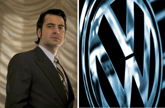 Ron Livingston in a still for 'Music Within.'/Volkswagen Logo.