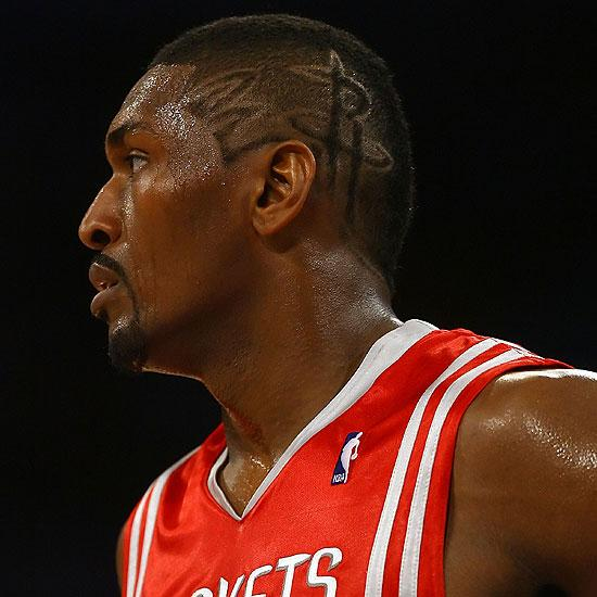 Ron Artest, 31, is a professional basketball player and rapper who is currently with the Los Angeles Lakers. Artest majored in mathematics at St. John&#39;s University and began his NBA career with the Chicago Bulls. In June, he made headlines after filing a petition to change his name to Metta World Peace.&#40;Pictured: Ron Artest appears in a promotional photo for the Los Angeles Lakers.&#41; <span class=meta>(NBA.com)</span>