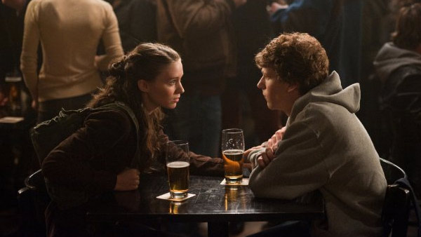 Rooney Mara appears in a photo from the 2010 film 'The Social Network.'