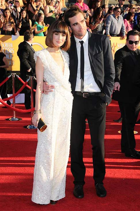 Rose Byrne and brother George appear at the 2012 Screen Actors Guild &#40;SAG&#41; Awards in Los Angeles on Jan. 29, 2012. <span class=meta>(Kyle Rover &#47; Startraksphoto.com)</span>