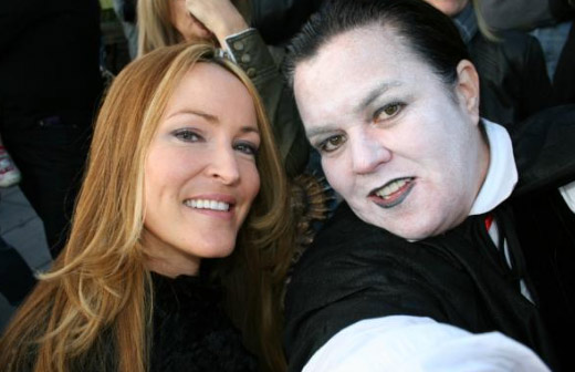 "<div class=""meta ""><span class=""caption-text "">Rosie O'Donnell Tweeted this photo on Oct. 31, 2011, saying: 'HAPPY HALLOWEEN !!!! VAMPIRES IN LOVE ...' (https://twitter.com/Rosie)</span></div>"