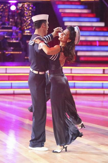 Reality star Melissa Rycroft and her partner Tony Dovolani received 30 out of 30 points from the judges for their Quickstep on  &#39;Dancing With The Stars: All-Stars,&#39; which aired on November 12, 2012. <span class=meta>(ABC &#47; OTRC)</span>