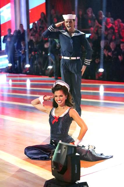 Reality star Melissa Rycroft and her partner...