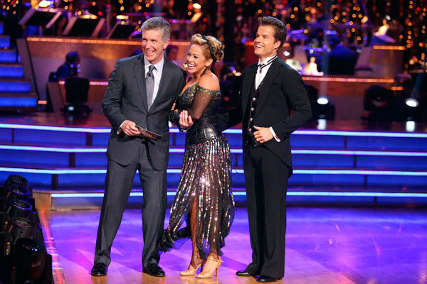 Disney Channel actress Sabrina Bryan and her partner Louis Van Amstel received 26 out of 30 points from the judges for their Quickstep on week two of &#39;Dancing With The Stars: All-Stars,&#39; which aired on Oct. 1, 2012. <span class=meta>(ABC &#47; Adam Taylor)</span>
