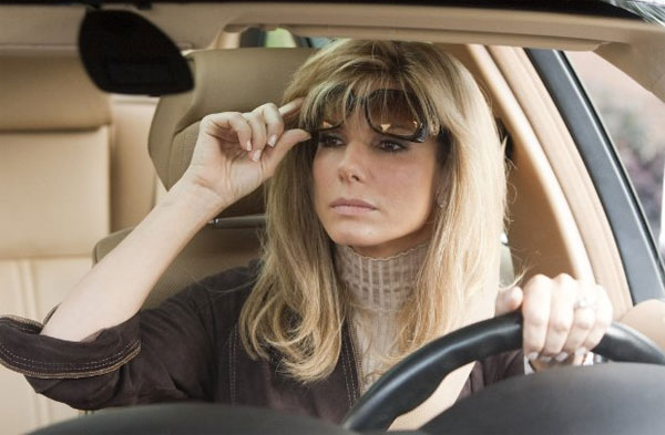 Sandra Bullock appears in the 2009 film 'The Blind Side.'
