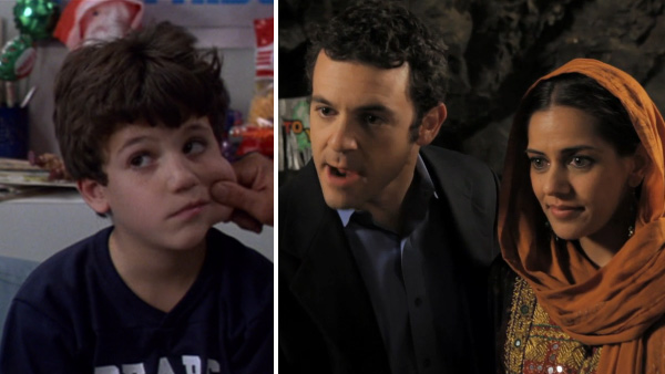 "<div class=""meta ""><span class=""caption-text "">Fred Savage played the grandson in 'The Princess Bride.' His grandfather (Peter Falk) read the tale to him while he was home sick. The actor is best known for his role on the 1980s series 'The Wonder Years.' He played main character Kevin Arnold. He also played Number Three in the 2002 film 'Austin Powers in Goldmember' and starred in the 2006 series 'Crumbs'.Savage directed the 2007 film 'Daddy Day Camp' and has directed several TV shows, including 9 episodes of 'Party Down,' which he also produced, 'Modern Family,' 'It's Always Sunny in Philadelphia,' 'Whitney,' '2 Broke Girls' and ABC's 'Happy Endings,' which featured him in a cameo role - as himself - on a 2012 episode.  In 2011, he starred in the Funny Or Die parody video 'Being bin Laden.'  Savage married his childhood friend Jennifer Lynn Stone in 2004. They have two children. (Pictured: Fred Savage appears in a scene from 'The Princess Bride.' / Fred Savage appears in a scene from the 2011 Funny Or Die video 'Being bin Laden.') (MGM / FunnyOrDie.com)</span></div>"
