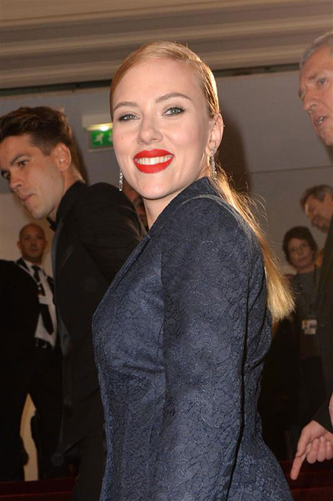 Scarlett Johansson appears at the Cesar Film Awards in Paris on Feb. 28, 2014. <span class=meta>(Bernard-Briquet-Orban &#47; ABACA &#47; Startraksphoto.com)</span>