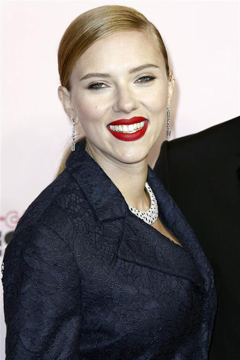 Scarlett Johansson appears at the Cesar Film Awards in Paris on Feb. 28, 2014. <span class=meta>(Franck Leguet &#47; ABACA &#47; Startraksphoto.com)</span>