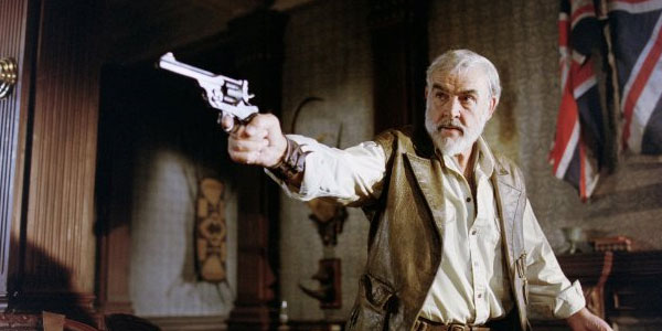 Sean Connery turns 82 on Aug. 25, 2012. The actor is known for his work in films such as &#39;The League of Extraordinary Gentlemen,&#39; &#39;Indiana Jones and the Last Crusade&#39; and &#39;The Rock.&#39;&#40;Pictured: Sean Connery appears in a scene from the 2003 film &#39;The League of Extraordinary Gentlemen.&#39;&#41; <span class=meta>(Angry Films &#47; International Production Company)</span>