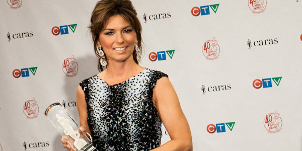 Shania Twain appears in a photo from the Juno's...