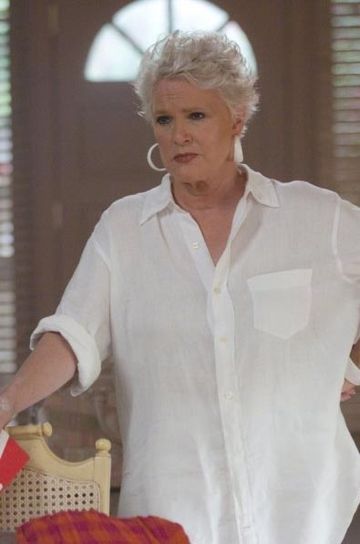 Sharon Gless in a scene from a 2010 episode of...