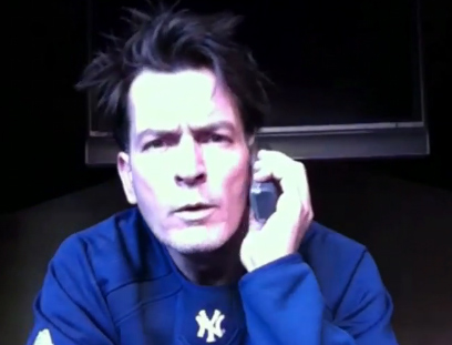 "<div class=""meta ""><span class=""caption-text "">'Let me even see if it has a speaker because it's a frickin', you know, built by trolls. Phones were built by trolls.' - Charlie Sheen during 'Sheen's Corner Episode 3, Torpedoes of Truth Part 2,' the actor's third uStream webcast posted on Monday, March 7, 2011. (ustream.tv/recorded/13167959)</span></div>"