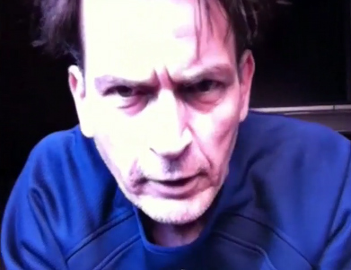 Charlie Sheen on his uStream webcast 'Sheen's Corner