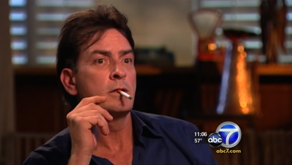 Charlie Sheen appears on ABC's '20/20' on March...