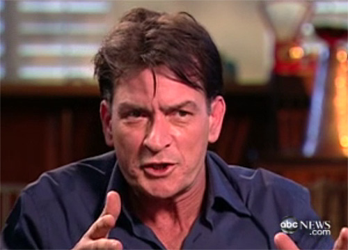 "<div class=""meta ""><span class=""caption-text "">'I am on a drug, it's called 'Charlie Sheen!' - Charlie Sheen, when asked if he was on drugs by ABC News' Andrea Canning during an interview that aired on '20/20' on March 1, 2011. (ABC News)</span></div>"