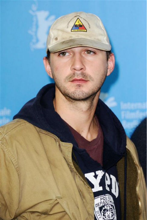 Shia LaBeouf appears at a photo call for &#39;Nymphomaniac Volume I&#39; at the Berlin Film Festival on Feb. 9, 2014. He later walked out out a press conference for the movie after responding to one question. <span class=meta>(Aurore Marechal &#47; Abaca &#47; Startraksphoto.com)</span>