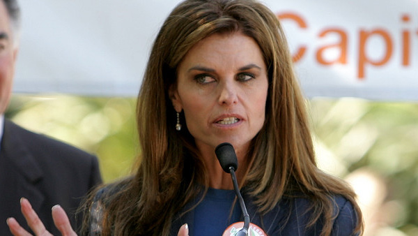 Maria Shriver appears in a photo from the 'We Garden' event at the California State Capitol grounds in May 2009.