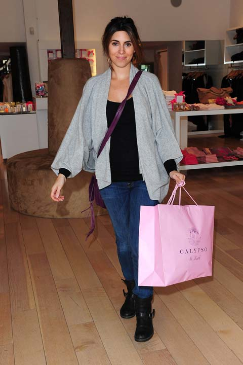 "<div class=""meta ""><span class=""caption-text "">Pregnant Jamie-Lynn Sigler debuted her baby bump while shopping at resort-wear boutique Calypso St. Barth, which carries many luxury brands, on Feb. 19, 2013 in Los Angeles. A source told OTRC.com that Sigler stocked on Calypso St. Barth's signature Lulu Tunics, cashmere cardigans and maxi dresses. (Michael Williams / StartraksPhoto.com)</span></div>"