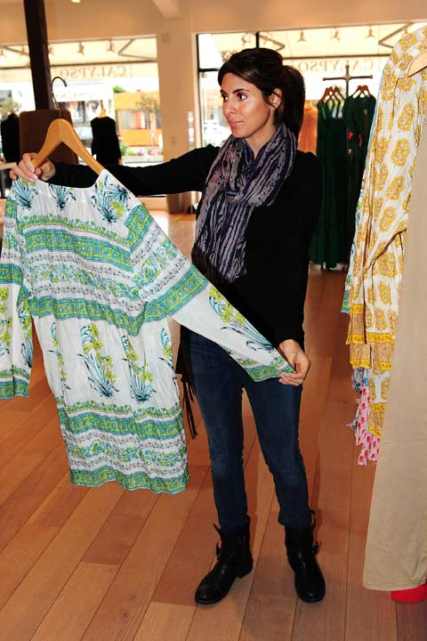 Pregnant Jamie-Lynn Sigler debuted her baby bump while shopping at resort boutique Calypso St. Barth, which carries many luxury brands, on Tuesday, February 19 in Los Angeles. A source told OTRC.com that Sigler stocked on Calypso St. Barth&#39;s signature Lulu Tunics, cashmere cardigans and maxi dresses. <span class=meta>(Michael Williams &#47; StartraksPhoto.com)</span>