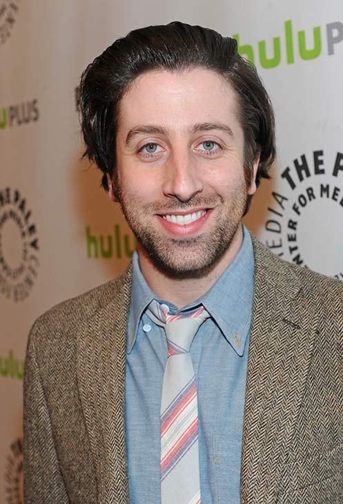 &#39;The Big Bang Theory&#39; star Simon Helberg attends the Paley Center for Media&#39;s PaleyFest honoring the CBS show at the Saban Theatre, courtesy of Samsung Galaxy, on Wednesday, March 13, 2013 in Los Angeles. <span class=meta>(Kevin Parry for Paley Center for Media)</span>