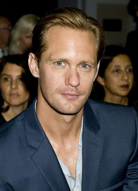 "<div class=""meta ""><span class=""caption-text "">'True Blood' star Alexander Skarsgard appears at the Spring 2014 Calvin Klein Fashion Show during Mercedez-Benz Fashion Week in New York on Sept. 12, 2013. (Justin Campbell / Startraksphoto.com)</span></div>"