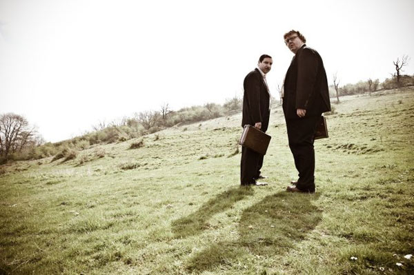 Andrew Buckley and Ed Gaughan in a still from...