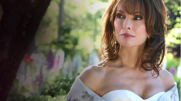Susan Lucci appears in a scene from 'All My Children.'