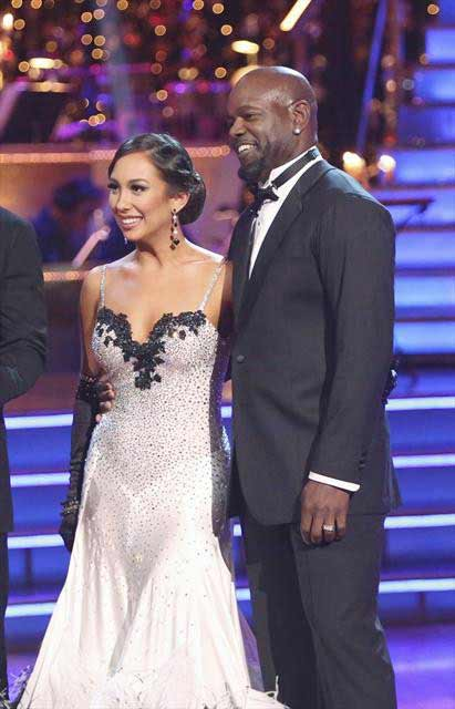 Retired NFL star Emmitt Smith and his partner...