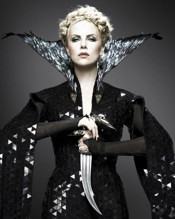 Charlize Theron appears in a promotional poster...
