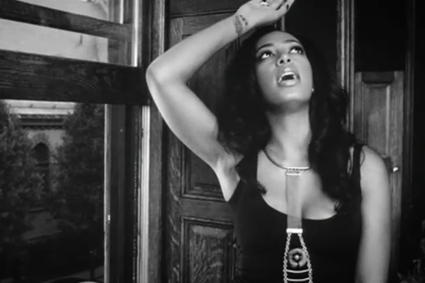 Solange Knowles appears in a still from her 2011 'T.O.N.Y.' music video.