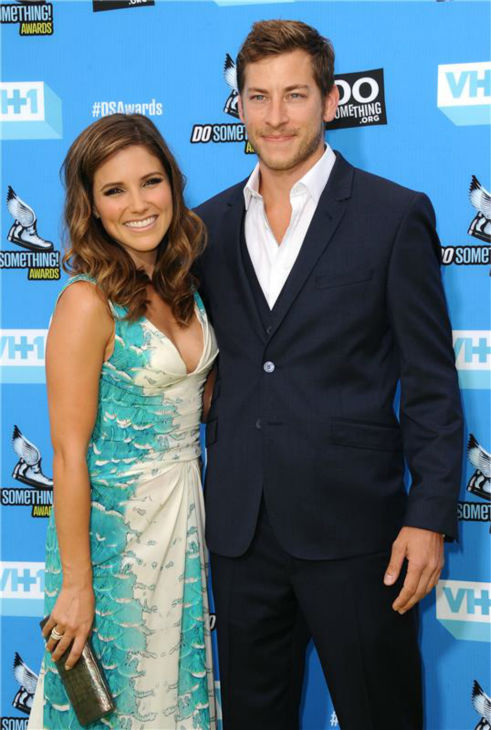 Host Sophia Bush and boyfriend and Google executive Dan Fredinburg attend the 2013 Do Something Awards in Hollywood, California on July 31, 2013.