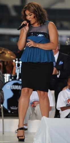 At only the age of 17, Jordin Sparks was the youngest &#39;Idol&#39; winner. Immediately following her win on season six, Sparks released her self-titled album that went platinum and received an American Music Award nomination in 2008 and a Grammy nomination in 2009. Sparks released her second album, &#39;Battlefield,&#39; in 2009, which debuted at No. 7 in the United States. Sparks has proven to be one of the most successful alums with five consecutive top 20 singles.  The coming years proved to be full of success as in 2008 she partnered with Wet Seal and launched her own clothing line, Sparks; appeared on Disney&#39;s &#39;The Suite Life on Deck&#39; and &#39;Big Time Rush&#39;; and in 2010 she made her Broadway debut as Nina Rosario in the Tony Award-winning musical &#39;In the Heights.&#39; In October of 2010, Sparks also released her fragrance, &#39;Because of You.&#39;  Sparks stars in the late Whitney Houston&#39;s last movie, &#39;Sparkle,&#39; which is set for release on Aug. 17, 2012. <span class=meta>(Myspace.com&#47;jordinsparks)</span>