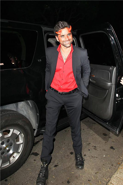 John Stamos appears at a Halloween party in Beverly Hills, California on Oct. 25, 2013. <span class=meta>(David Wright &#47; Startraksphoto.com)</span>