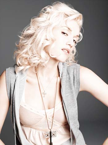 Gwen Stefani in a promotional publicity photo for her album, 'The Sweet Escape.'